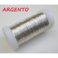 Filo di Rame metallizato, spessore 0,80 mm., Disponibile in confezioni da 1hg