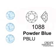 Swarovski Gemma Tonda Conica POWDER BLUE - 1088