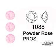 Swarovski Gemma Tonda Conica POWDER ROSE - 1088