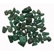 Chips in pietra dura, Giada verde scura