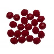 Mezzo cristallo colore Rosso scuro Opaco